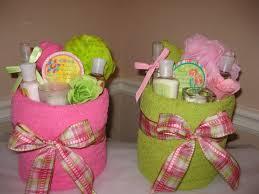 Pamper Gift Basket Pamper Me Towel Cakes Kathy U0027s Day Spa Party
