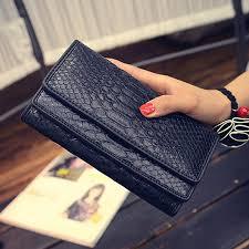 leather women s wallet pattern women s snake skin pattern leather wallets female long wallets