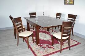 Rubber Wood Dining Table Set In Yinzhou District Ningbo Exporter - Rubberwood kitchen table
