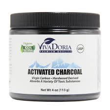 viva doria activated charcoal powder 4 oz walmart com