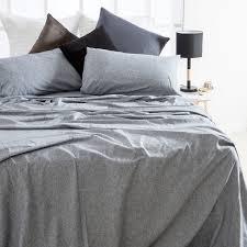 chambray flannelette sheet set pillow talk