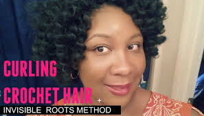 crochet hair brands pre curling crochet braiding hair invisible roots method