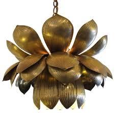 Flower Pendant Light Lotus Flower Pendant Light And Extraordinary Fancy Design Planning