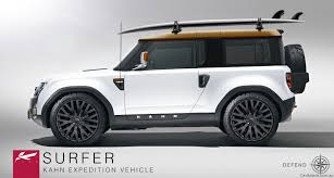 surfboard jeep land rover dc100 concept by project kahn photos 1 of 4