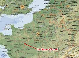 map of le mans the 2016 running 24 hours of lemans through the of