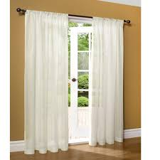 Sheer Off White Curtains Semi Sheer Curtains Roselawnlutheran