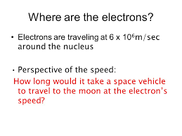 warm up identify 3 facts about electrons where are the electrons