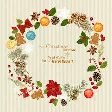 christmas wreath with christmas tree pine cones christmas