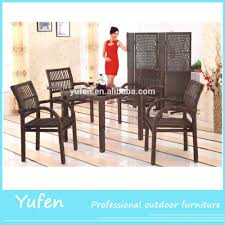 Glass Tables And Chairs Rattan Glass Top Tables And Chairs Rattan Glass Top Tables And