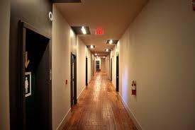 interior hallway apartment old apartment buildinglong dark