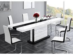 High Gloss Extending Dining Table Inspiring Glass Dining Room Table Set And Glass Top Dining Tables