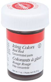 amazon com wilton 610 906 icing gel 1 ounce red red wilton