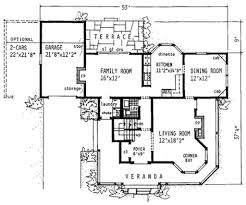Victorian Blueprints 28 Victorian Style House Floor Plans 1879 Print Victorian