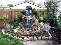 backyard waterfalls ideas landscape design makeovers home corner