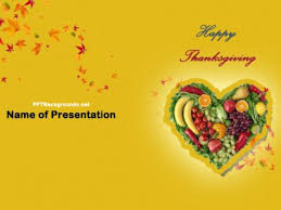Free Thanksgiving Powerpoint Backgrounds Pizza Food Free Ppt Backgrounds