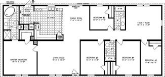 5 Bedroom Mobile Home Floor Plans 5 Bedroom Home Floor Plans Nrtradiant Com