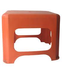 Plastic Stool Samruddhi Orange Plastic Stool Buy Samruddhi Orange Plastic Stool