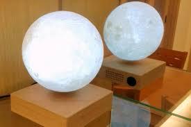 Moon Light Fixture Levitating Moon U2013 This Beautiful Moon Is A Levitating Lamp Ufunk Net