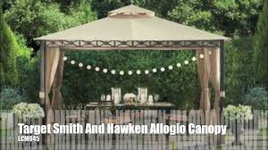 Replacement Canopy For 10x12 Gazebo by Target Smith And Hawken Allogio Gazebo Canopy Youtube