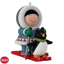 frosty friends mini ornament keepsake ornaments hallmark
