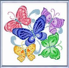 butterflies butterfly cross stitch pattern designs and