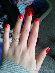 red my lips gel nails at home forgetful momma