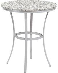 36 round cafe table sweet deal on travira 36 round café bar table powder coated aluminum