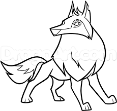 how to draw an animal jam arctic wolf step 9 1 000 by