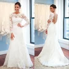 clearance plus size wedding dresses a line lace 2018 wedding dresses with sleeves open back
