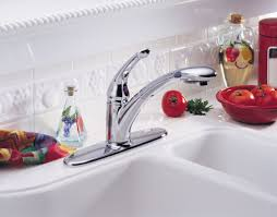 delta kitchen faucet warranty faucet com 472 dst in chrome by delta