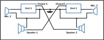 two way intercom circuit diagram