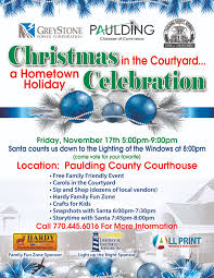 christmas in the courtyard a hometown holiday celebration nov 17