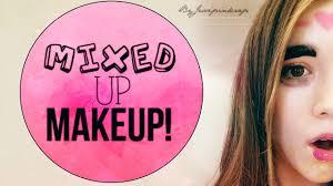 Challenge Mix Mixed Up Makeup Challenge Con Su Historia Y Todo