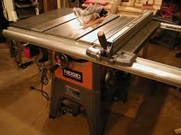 ridgid table saw miter gauge furnitude ridgid r4512 table saw full review