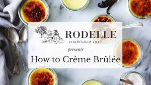 how to make crème brûlée youtube