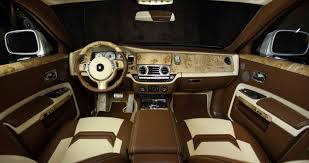 customized rolls royce interior rolls royce ghost by mansory