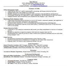 resume skills format amitdhull co