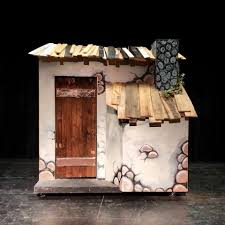 lance cardinal into the woods set design into the woods
