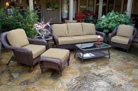 Wicker Patio Table Set Tortuga Outdoor Wicker 6 Seating Sofa Set