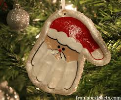 print santa keepsake ornament from abcs to acts