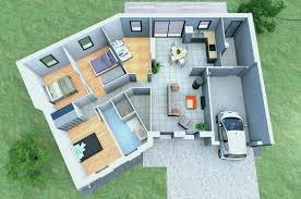 plan de maison en v plain pied 4 chambres maison sims 4 plan beautiful maison de plain pied décoration de maison
