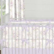 Pink Floral Crib Bedding Lavender Shabby Floral Crib Bedding Carousel Designs