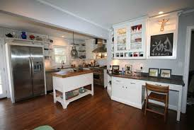 tiny cottage kitchens cool square patterned tiles floors small