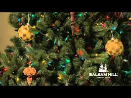 balsam hill color clear lights balsam hill color clear functionality close up view clip youtube