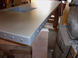 Zinc Bistro Table Zinc Bar Tops Custom Zinc Products