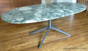 wrought iron table base for granite metal table base for granite top intended for table bases for