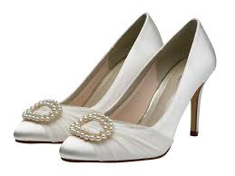 wedding shoes exeter beatrice pearl brooch court wedding shoes