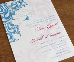 customized wedding invitations digitally printed wedding invitation designs invitations by ajalon