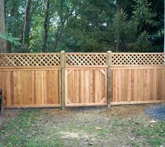 wood lattice wall design of lattice fence design for your garden homesfeed