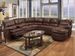 Rustic Sectional Sofas Keamey Reclining Sectional Sofa Set A Polyester Reclining Sofa